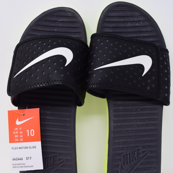 feff3cccf955 Nike Flex Motion Slide Mens Style  642446-017 New